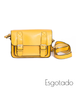 Bolsa Vintage Mini Amarela