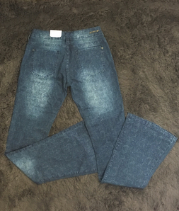Calça Jeans M. Officer Boot Cut Destroyed