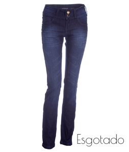 Calça Jeans Escura M. Officer Skinny New Fit