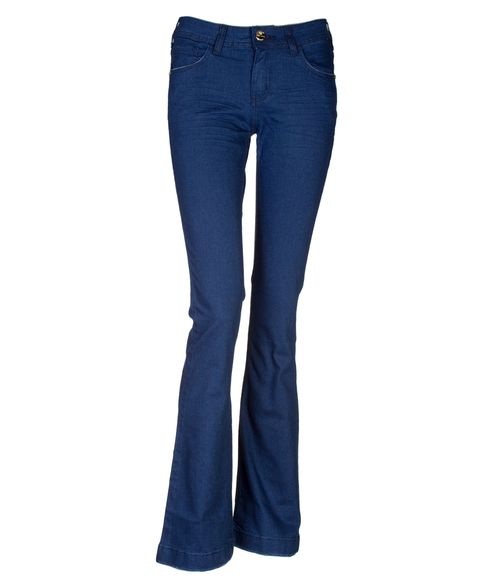 Calça Jeans M. Officer Boot Cut Azul