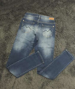 Calça Jeans M. Officer Estonada New Azul