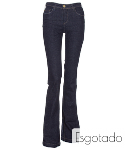 Calça Jeans Escura M. Officer Basic Blue Raw