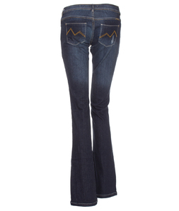 Calça Jeans M. Officer Up Fit Dark Blue Flare