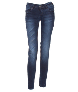 Calça Jeans Médio Escura M. Officer Up Fit Dark Blue