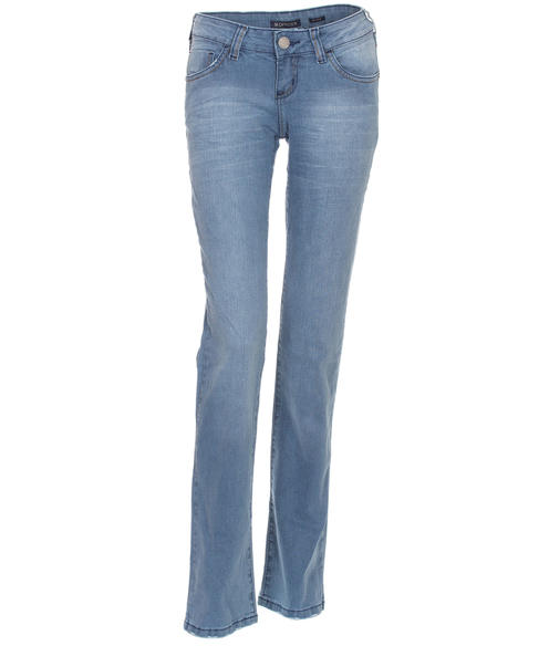 Calça Jeans Intermediária  M. Officer Up Fish Washed