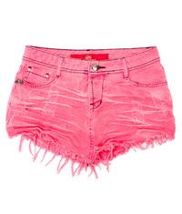 Saia de Bico 3D Desfiada Rosa Seco Degrant