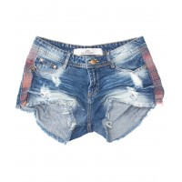 Shorts Jeans 3D Boho Lateral