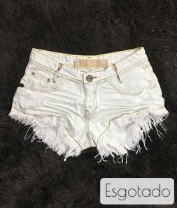 Shorts 3D Jeans Off Passante Torcido Colorido Degrant