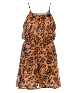 Vestido M. Officer Animal Print
